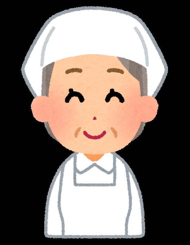 惣菜屋のおばちゃん