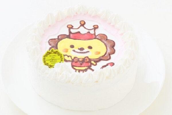 アレルギー対応のキャラクターケーキ