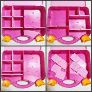 レゴピンクのスーツケース