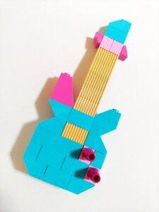 レゴアイデアパーツのギター