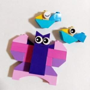 レゴアイデアパーツのちょうちょ